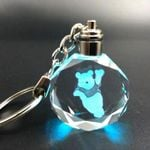 Disney Characters Colorful Crystal Keychain