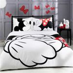 Disney Mickey Kiss Minnie Bedding Set