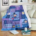 Eeyore Blue Blanket