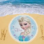 Elsa Disney Beach Blanket 1