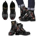 Floral Snoopy Boots
