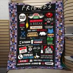 FRIENDS FOREVER FABRIC QUILT