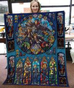 HARRY POTTER FABRIC QUILT