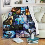 How To Train Your Dragon Blanket