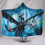 How To Train Your Dragon Hooded Blanket