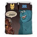 Iron Man & Sulley Bedding Set