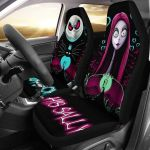 JACK AND SALLY CAR SEAT COVERS HIDE