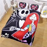 Jack And Sally Forever Love Bedding Set