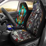 JACK SKELLINGTON AND SALLY CAR SEAT COVERS HIDE