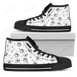 Jack Skellington Disney High Top Canvas Shoes 1