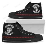 Jack Skellington Halloween High Top Shoes 9