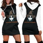 Jack Skellington Halloween Hoodie Dress 10