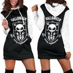 Jack Skellington Halloween Hoodie Dress 12