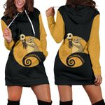 Jack Skellington Halloween Hoodie Dress 7