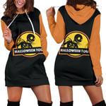 Jack Skellington Halloween Hoodie Dress 8