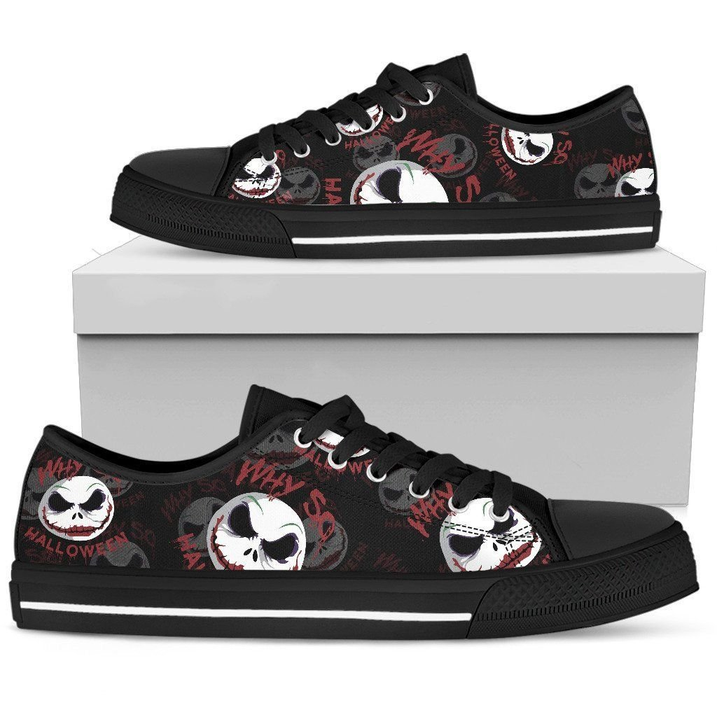 Jack Skellington Halloween Low Top Shoes 7