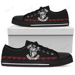 Jack Skellington Halloween Low Top Shoes 8