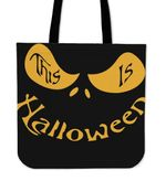 Jack Skellington Halloween Tote Bag