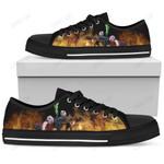 Jack Skellington Low Top Canvas Shoes 1