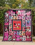 JUST MINNIE FABRIC QUILT