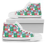 Lilo & Stitch High Top Shoes 10