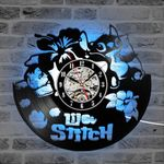Lilo And Stitch Wall Clock
