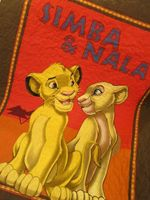 LION KING FABRIC QUILT