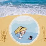 Little Alice Disney Beach Blanket 1