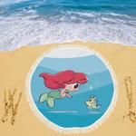 Little Ariel Beach Blanket 2