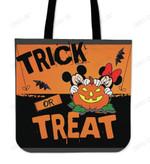 Mickey &  Minnie Trick or Treat Tote Bag
