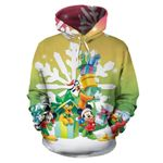 Mickey and Friends Christmas Hoodie 4