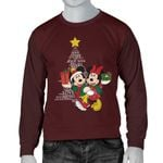 Mickey and Minnie Christmas Men Sweater 19