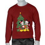 Mickey and Minnie Christmas Men's Sweater 5
