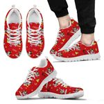 Mickey and Minnie Christmas Sneakers