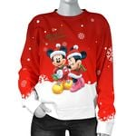 Mickey and Minnie Christmas Women Sweater 13