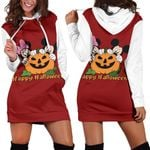 Mickey and Minnie Halloween Hoodie Dress 4