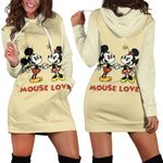 Mickey and Minnie Hoodie Dress 39