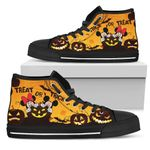 Mickey and Minnie Trick or Treat High Top Shoes 5