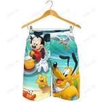 Mickey And Pluto Shorts