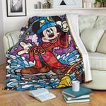 Mickey Art Blanket