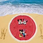 Mickey Beach Blanket 1