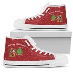 Mickey Christmas High Top Shoes 1
