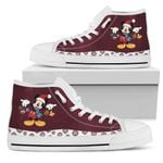 Mickey Christmas High Top Shoes 2