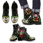 Mickey Christmas Leather Boots
