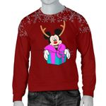 Mickey Christmas men Sweater 11