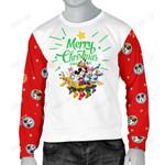Mickey Christmas Men's Sweater 7