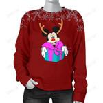 Mickey Christmas women Sweater 11