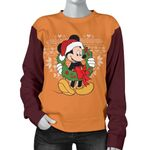 Mickey Christmas Women Sweater 16