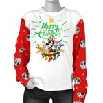 Mickey Christmas Women's Sweater 7