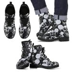 Mickey Halloween Leather Boots 3